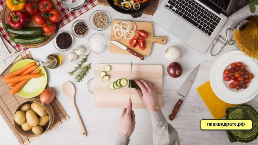 Натуральные овощи - приготовление